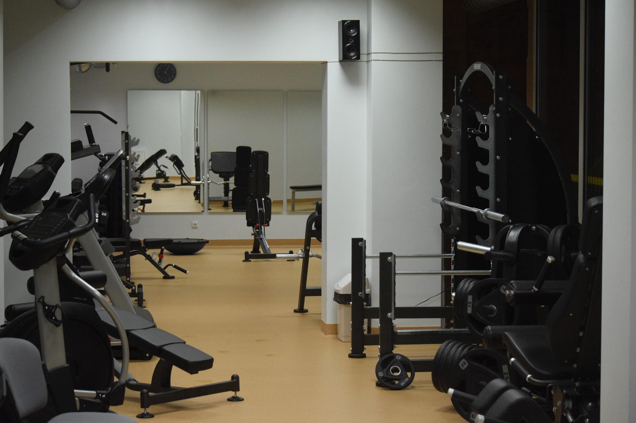 Sporto treniruociu sale